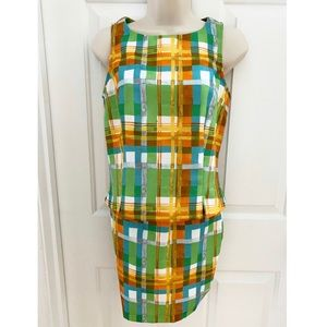 Two Piece Multicolored Dress (Skirt/Top)